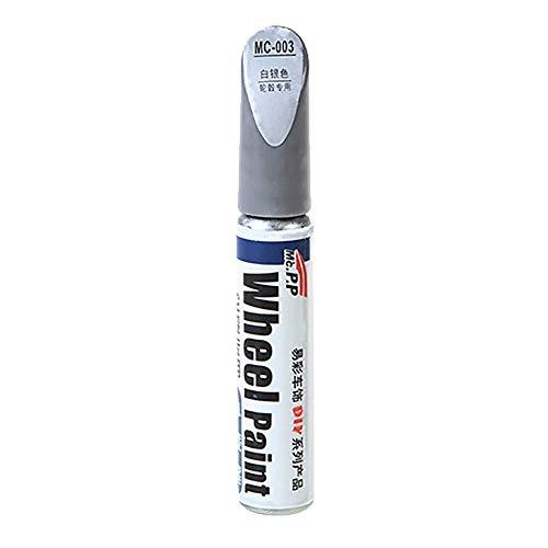 CFPacrobaticS-UK Środek do usuwania zarysowań, uniwersalna farba do naprawy samochodu, środek do naprawy rys samochodu specjalny długopis do naprawy lakieru samochodowego do narzędzi do naprawy samochodów srebrny biały