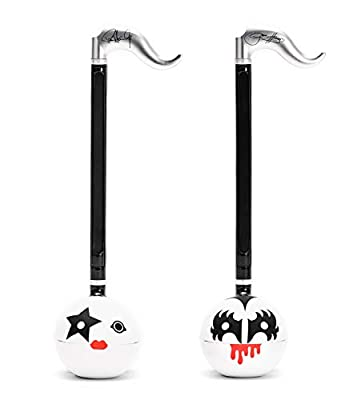 """Otamatone [Special KISS Edition Set] American Rock Band""""Gene Simmons"""" &""""Paul Stanley"""" Signature Japanese Electronic Musical Instrument Portable Synthesizer from Japan by Cube/Maywa Denki"""