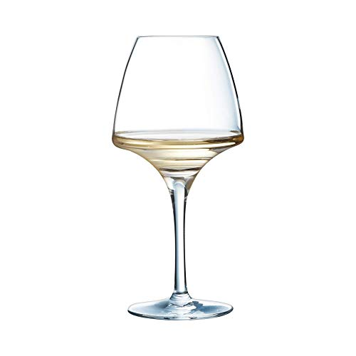 Chef & Sommelier 8011780.0 Chef&Sommelier U1008 Verre à pied Open Up Pro Tasting 32cl, en cristallin Lot de 6, Transparent, 32 cl