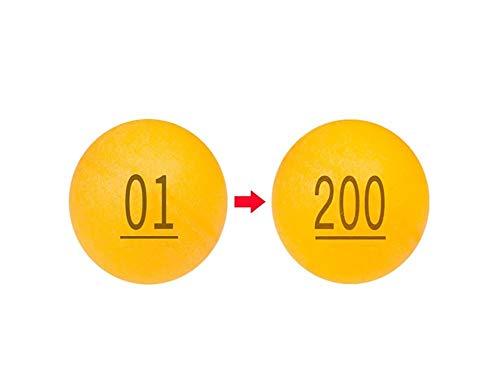 Best Price YINJIESHANGMAO Lottery Ball 01-200 Ball Lottery Ball Touch Prize Ball Shake Ball Seamless...