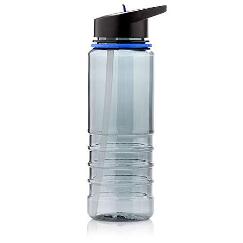 Meteor Bottiglia Acqua Plastica Tritan Borraccia Senza BPA per Bambini di Adolescenti e Adulti Ideale per Bici Sportivo Fitness Campeggio Scuola Ufficio Palestra 700 ml (700 ml)