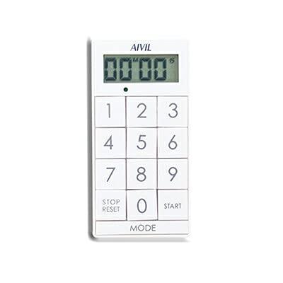 アイビル デジタルタイマー スリムキューブ Z-430WT ホワイト