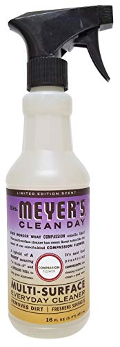 Mrs. Meyer's Clean Day, Limited Edition Compassion Flower Scent (Multi-Purpose Everyday Cleaner)