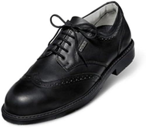 Uvex 9541.9 6+ oficina Brogue zapatos, S1, tamaño 6,5, negro