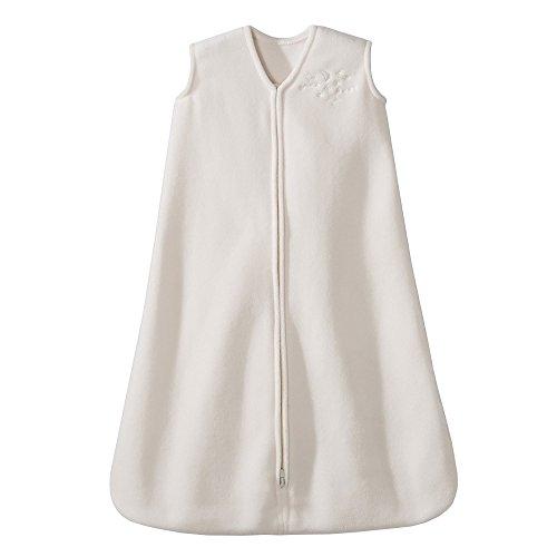 HALO Sleepsack Micro-Fleece Wearable Blanket, Cream, Small