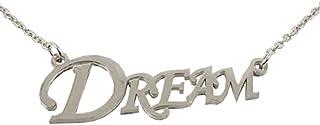 Utkarsh Silver Color Fancy & Stylish Trending Valentine's Day Special Metal Stainless Steel Dream Name Letter Locket Penda...
