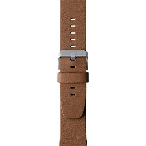 Belkin F8W731btC01 - Correa clásica de Piel para Apple Watch (38 mm/40 mm), Banda clásica de Piel para Apple Watch 4, 3, 2, 1 (Pulsera para Apple Watch)