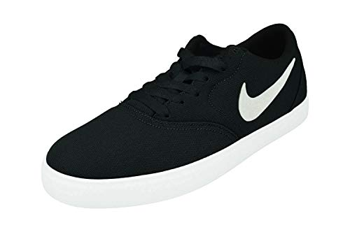 Nike SB Check CNVS, Chaussures de Skate Homme, Blanc/Noir, 43 EU