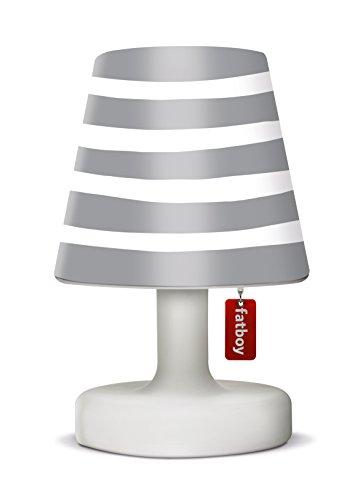 Fatboy® Edison the Petit + Cooper Cappie mr grey | Tischlampe / Outdoor Lampe / Nachttischlampe | Kabellos & per USB Aufladbar