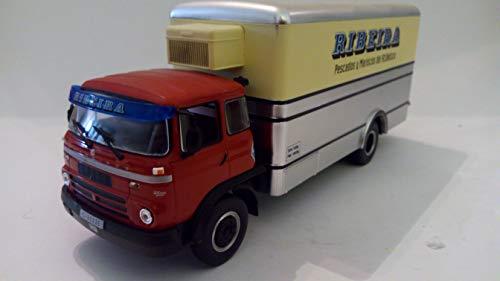 Desconocido 1/43 CAMIÓN Truck BARREIROS Super AZOR Gran Ruta RIBEIRA 1964