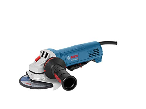Bosch GWS10-45DE 4-1/2 In. Ergonomic Angle Grinder with No Lock-On Paddle Switch