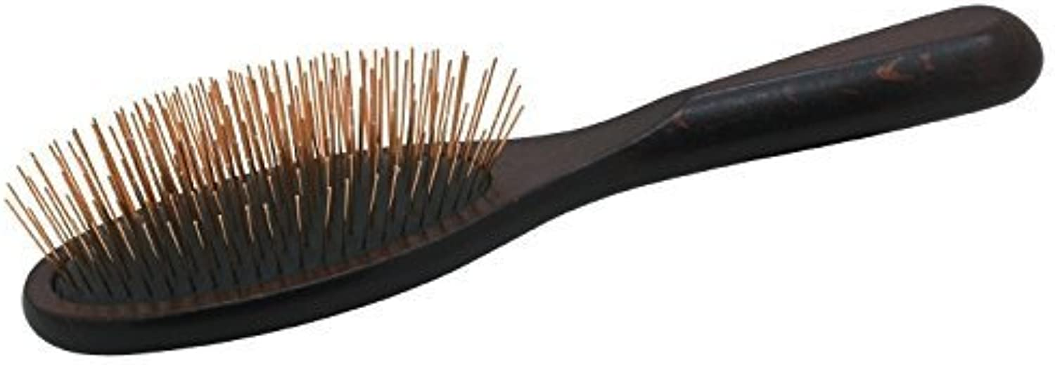 Chris Christensen Oval Fusion Brass Pin Brushes, 27mm by GroomersPro