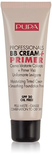 Pupa BB Cream + Primer For Combination To Oily Skin 002 Sand