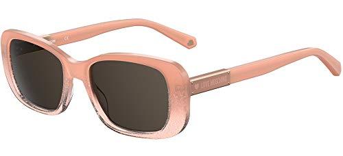 Moschino occhiale da sole MOL027/S FWM/IR Rosa grigio taglia 53 mm Donna