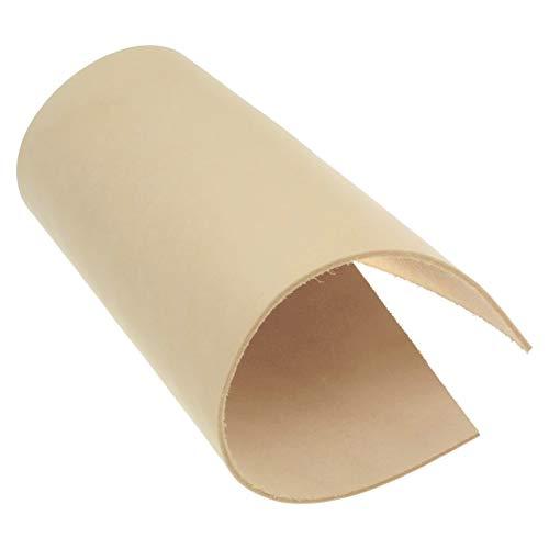 Blankleder 3,5 mm Dick Vegetabil Rindsleder Punzieren 122 (210 x 297 mm, 1 x A4)