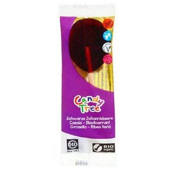 Candy Tree Bio Maislutscher schwarze Johannisbeere (6 x 13 gr)