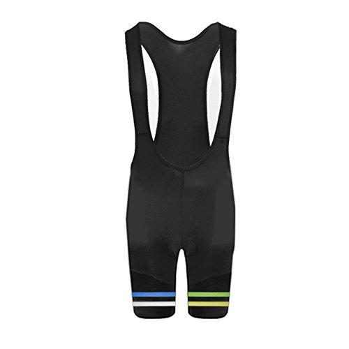 Uglyfrog Cuissards à Bretelles Rembourré Cyclisme 2019 Bike Wear Été Pantalons de Cycliste Respirant Bib Shorts Femme Tour de France DKWX01