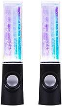 N-brand LED Light Dancing Water Speakers Music Fountain Light Speakers for PC Laptop Phone Portable Desk Stereo Water Dancing Speaker