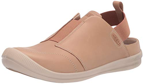 KEEN Women's Lorelai 2 Slip On Sneaker, Tan/Brick Dust, 7