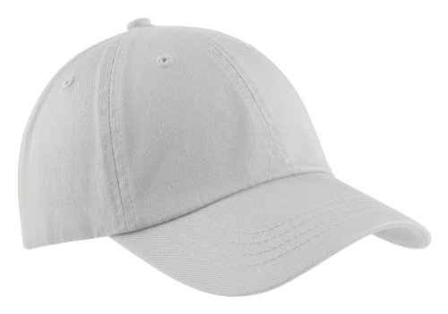 Port & Company® - Washed Twill Cap. CP78 Chrome OSFA