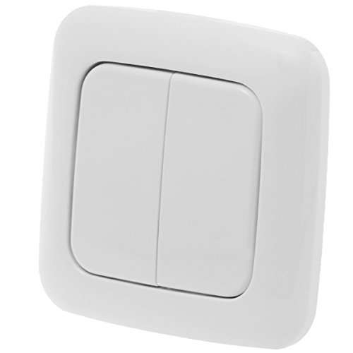 z-wave.me ZME_DW2 interruptor de luz Blanco - Interruptores de luz (Blanco)