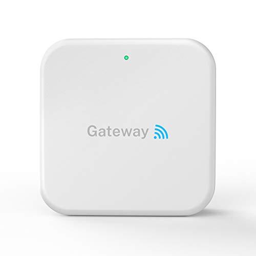 Wi-Fi Gateway Remotely Control Bluetooth Smart Door Lock with TT Lock App , Gateway Smart Hub Work with Alexa Voice Control ,Electronic Lock Assemblies by Nyboer
