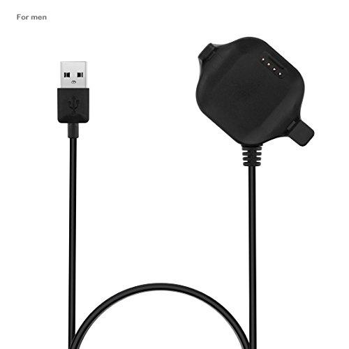 Garmin Forerunner 25 Large Replacement USB Charging Cable, AWADUO USB Charger Charging Cables Dock for Garmin Forerunner 25 Large SmartWatch