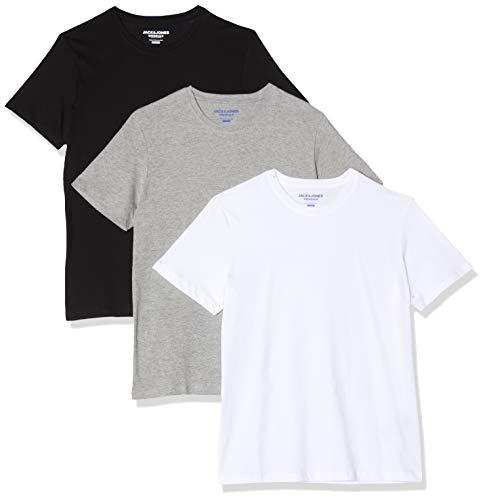 Jack & Jones heren T-shirt (3-delig pak)