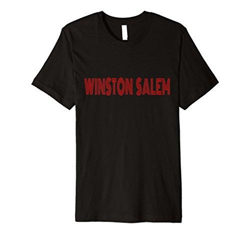 Winston Salem NC Retro Vintage Style Souvenir T-shirt