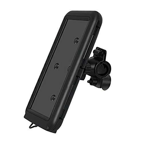 H HILABEE Funda de teléfono impermeable para bicicleta, soporte Universal para teléfono móvil con manillar, soporte para teléfono con barra de manillar
