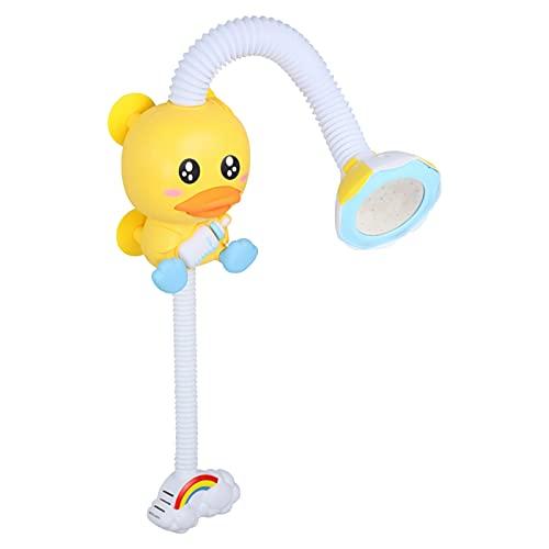 SM SunniMix Juguetes de baño para bebés Juguete de aspersión Piscina para niños Juego de rociadores Juguetes de baño para bebés Ducha de Agua en Aerosol Funciona
