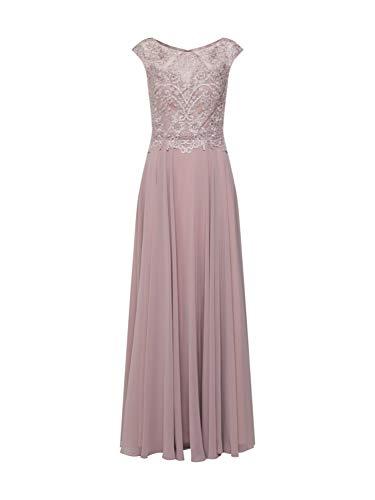 Luxuar Damen Abendkleid Puder 36