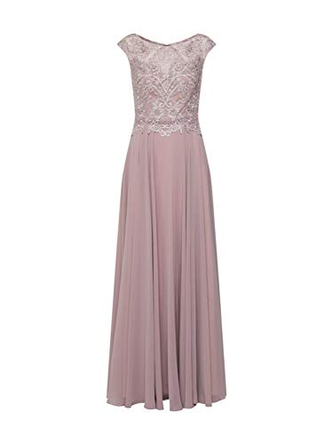Luxuar Damen Abendkleid Puder 36
