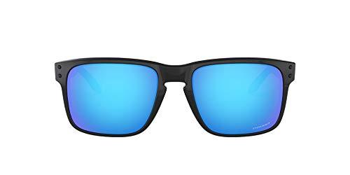 Oakley Holbrook 9102f5 Gafas de sol, Polished Black, 57 para Hombre