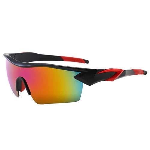 NSGJUYT Camino Deporte Gafas de Sol UV400 de la Bici Hombres Mujeres Gafas Ciclismo al Aire Libre Pesca Correr Bicicleta