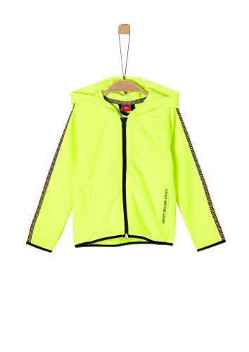 s.Oliver Junior Jungen 404.10.005.14.150.2038424 Sweatshirt, neon Yellow, 104/110/REG