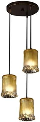 Six Light Venetian Style Hanging Fixture wGlass Shades