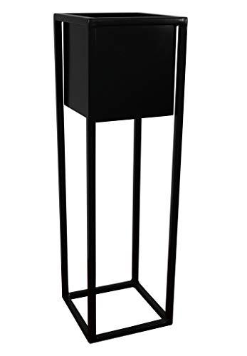 blumenstaender metall schwarz