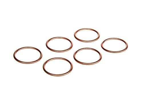 DIN Vorteils-Set: 6 x Krümmerdichtung Kupfer 28x34 Simson S51, S50, SR50, Schwalbe