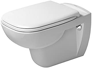 Duravit 25350900922 Toilet wm 545mm D-Code white washdown model, US-version, Medium,