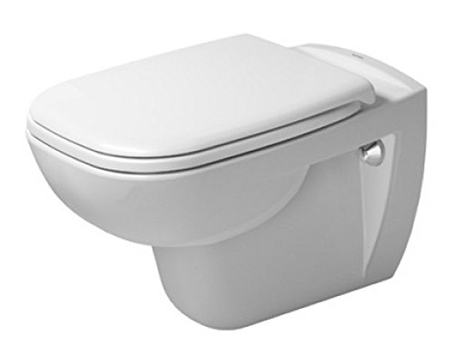 Duravit 25350900922 Toilet wm 545mm D-Code white washdown model, US-version, Medium