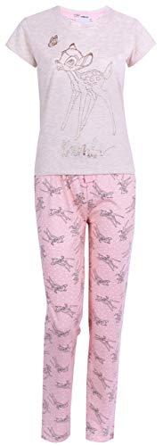 -:- Bambi -:- Disney -:- Rosa-Cremer Schlafanzug S