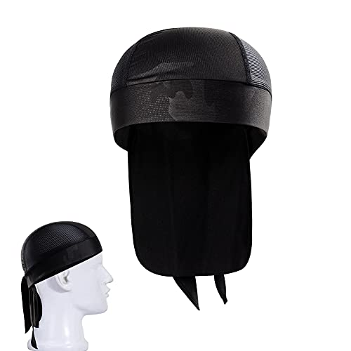JeoPoom Outdoor Adjustable Headwrap Traspirante Quick-Dry Berretto con Archetto, Sports Headwear Rapidamente Asciutto Sole Protezione UV Bandana Berretto Beanie, Berretto da Running