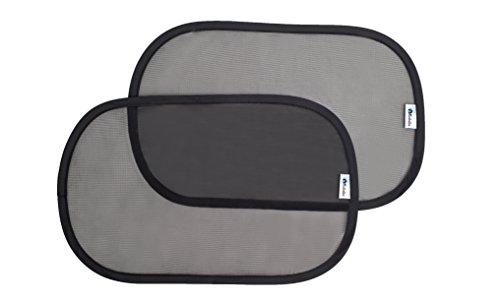 AltaBeBe AL7023 Sonnenschutz selbstklebend (2 Stück Pro Verpackung), 48 x 30 cm, schwarz