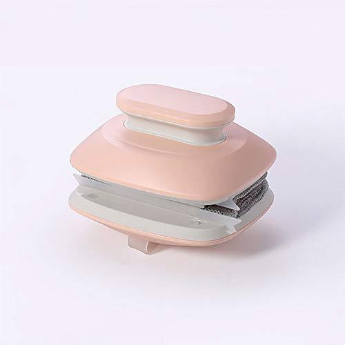 Doppelseitiger Magnetischer Fensterreiniger Starke Magnetische Glasreinigungszauber Reinigungswerkzeug Glaswischer für Doppelverglaste Fenster (Rosa)