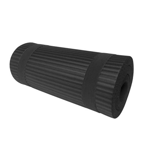 NUEVO 15 mm ESPLEADO NOTELIP 60x25x1.5cm Matones de yoga Mats Gimnass Mats Sports Cojín Gimnastic Pilates Pads con la correa de la bolsa de yoga