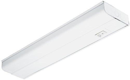 Lithonia Lighting UC8 25 120 SWR M6 1-Light White T8 Fluorescent Under Cabinet, 3-Feet