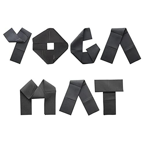 MB Zen Esterilla Yoga Plegable Antideslizante Gruesa 8 mm – Colchoneta Yoga Mat Pilates y Meditación Diseño 100% Español – Bolsa Esterilla Incluida