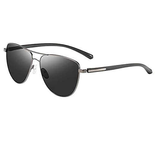 AMFG Occhiali da sole polarizzati da uomo Classico Driver Colorful Driver Driving Specchio Sunglasses Outdoor Big Frame Occhiali da sole (Color : B)