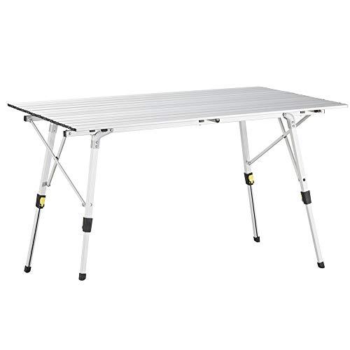 Tablethalterung und Getr/änkehalter Campingstuhl mit Tisch Uquip Regiestuhl Woody